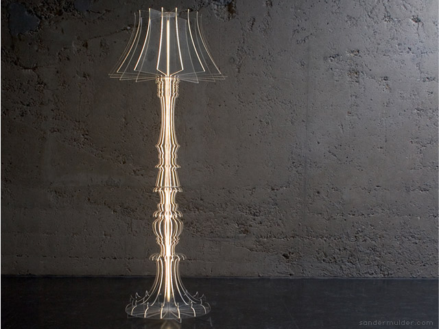Josephine floor lamp by Sander Mulder