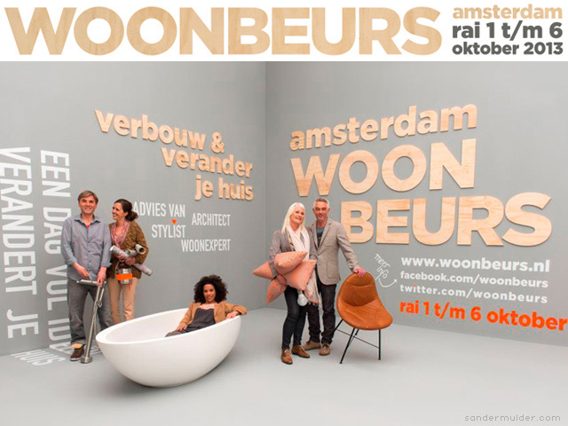 Sander Mulder at the Woonbeurs 2013