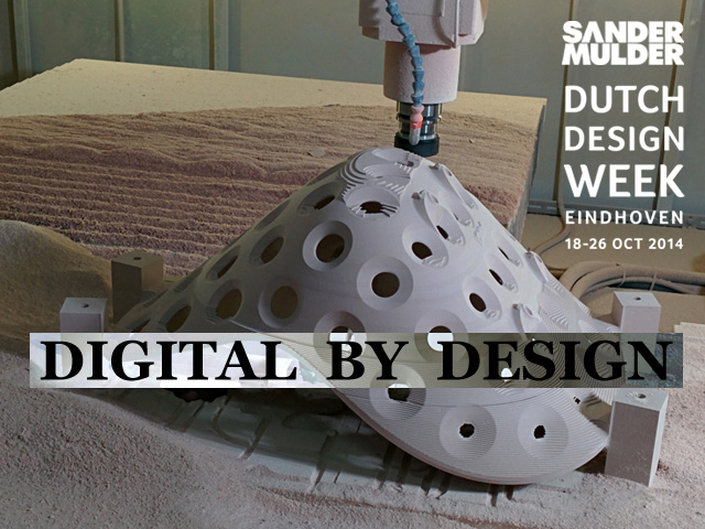 Sander Mudler at Dutch Design Week 2014