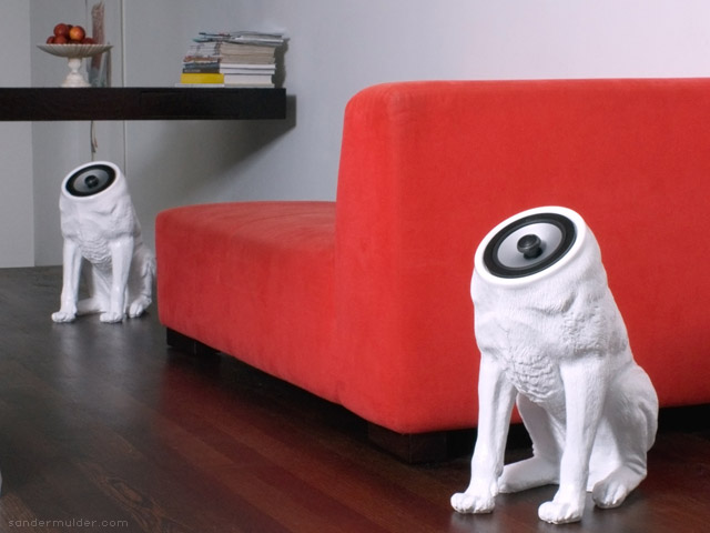 Woofers speakers by Sander Mulder